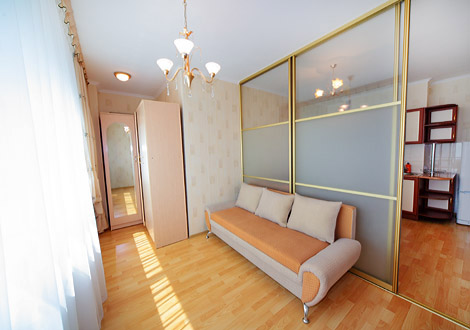 One-bedroom serviced apartment Astana