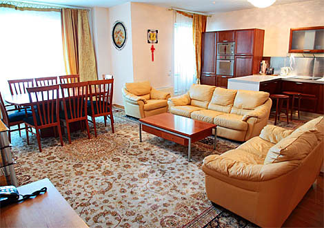 2-bedroom elite apartment in Astana