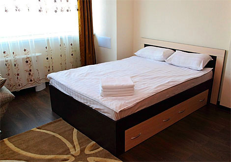 Serviced studio apartment, Astana