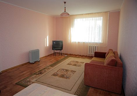 1-room serviced apartment in Astana
